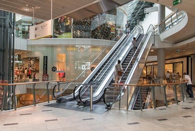 el aforo en tiendas y centros comerciales